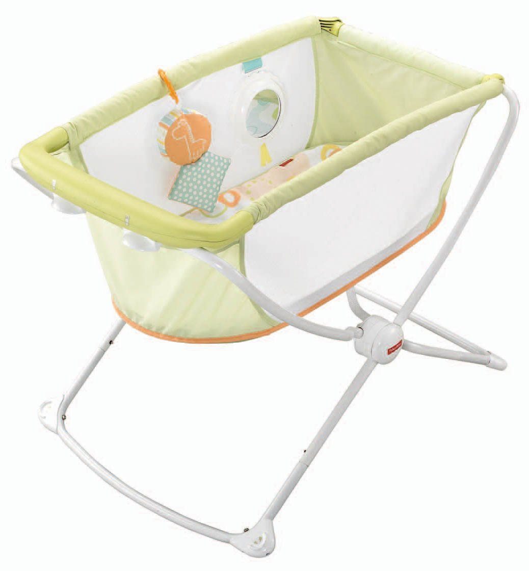 Fisher price rock n' play portable bassinet