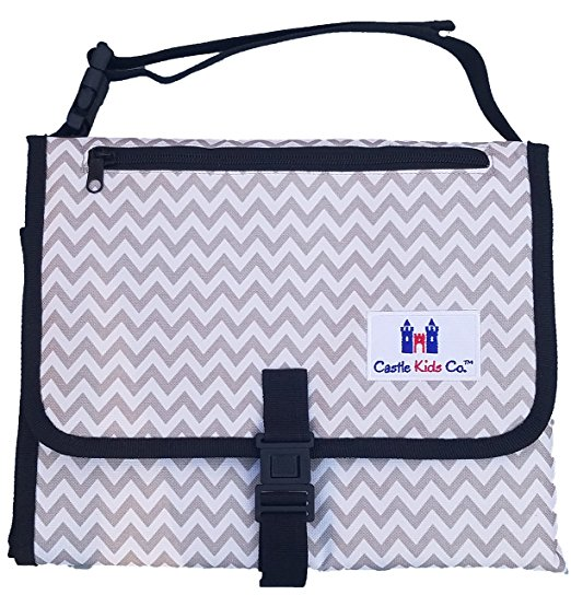 Castle Kids Co Luxury All in One Portable Changing Pad