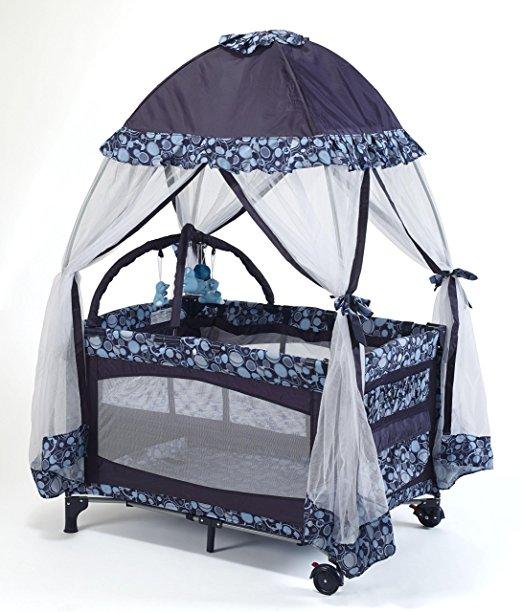 Big Oshi Playard with Net and Carry Bag