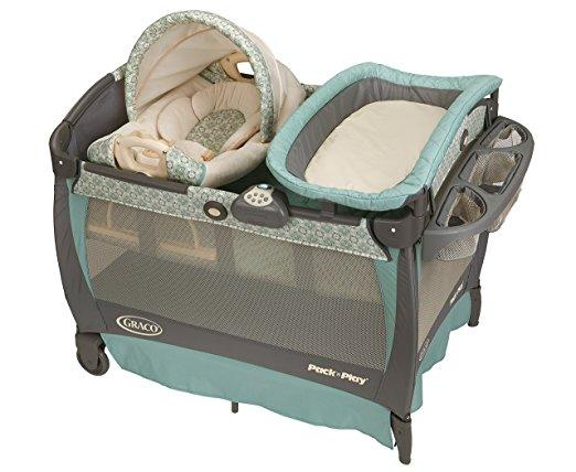 Graco Pack 'n Play with Cuddle Cove Rocking Seat