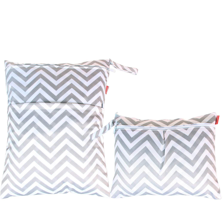 Damero Wet/Dry Bags, 2 pc