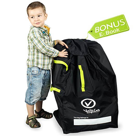 VolkGo Car Seat Travel Bag w/Bonus e-Book
