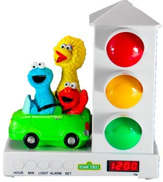 Custom Quest Sesame Street Stoplight Alarm Clock