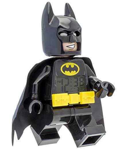 Lego Batman 9009327 Batman Kids Minifigure Alarm Clock
