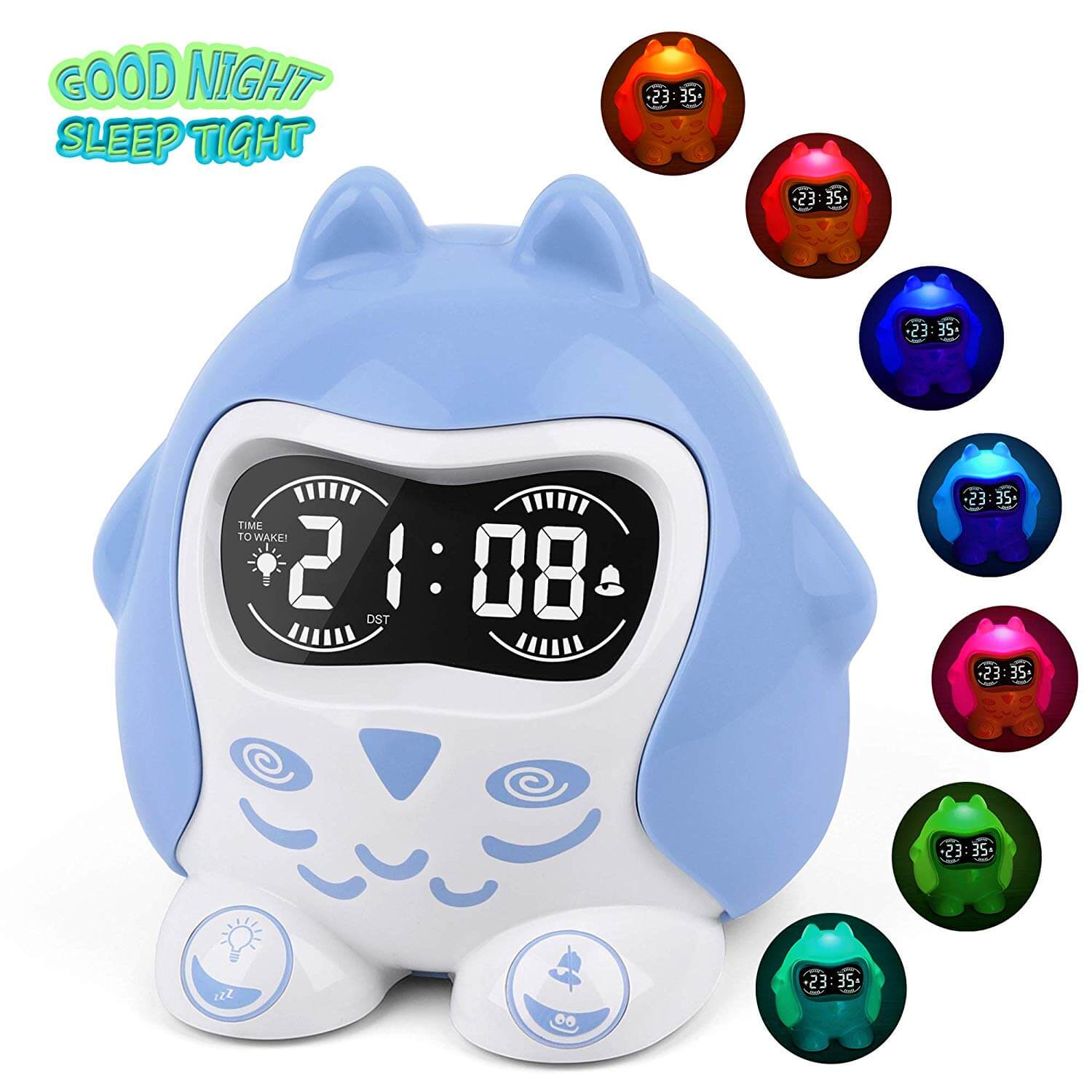 Mesqool Avian Kids' Alarm Clock and Sound Soother