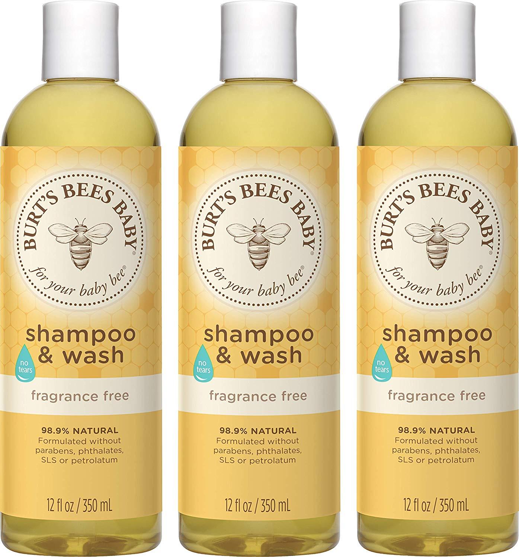 Burt's Bees Baby Bee Shampoo and Body Wash, Fragrance Free