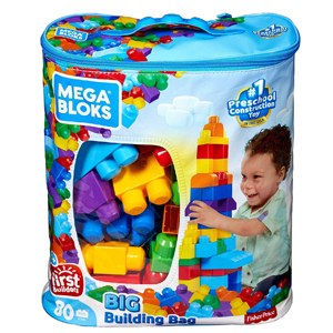 Mega Bloks First Builders Big Building Bag