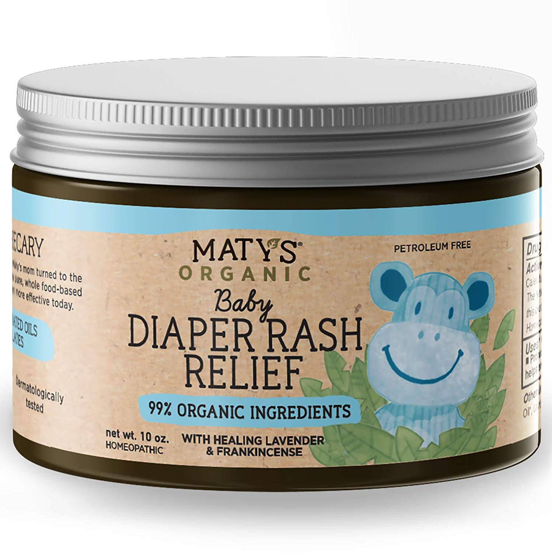 Maty's Organic Baby Diaper Rash Relief