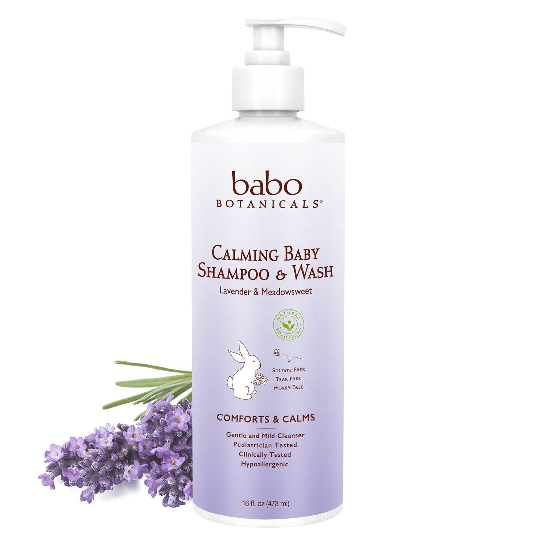 Babo Botanicals Calming Baby Shampoo and Wash