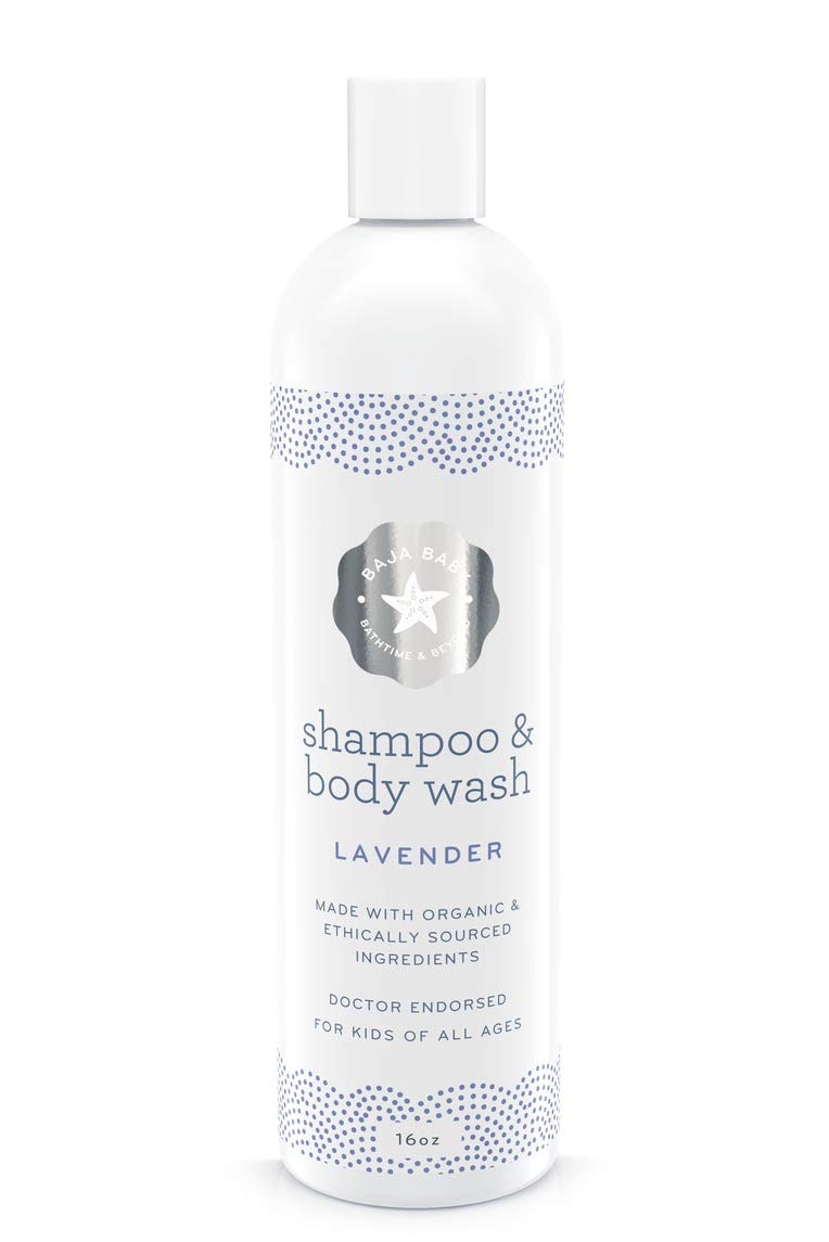 Baja Baby Organic Lavender Shampoo and Body Wash