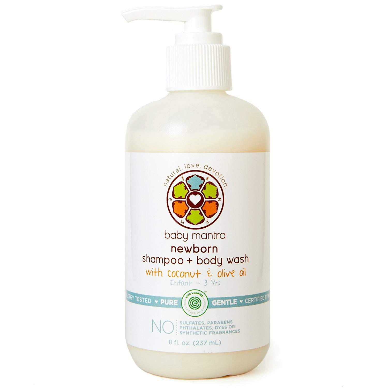 Baby Mantra Newborn Shampoo and Body Wash