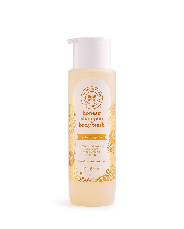 Honest Baby Shampoo and Body Wash, Sweet Orange Vanilla