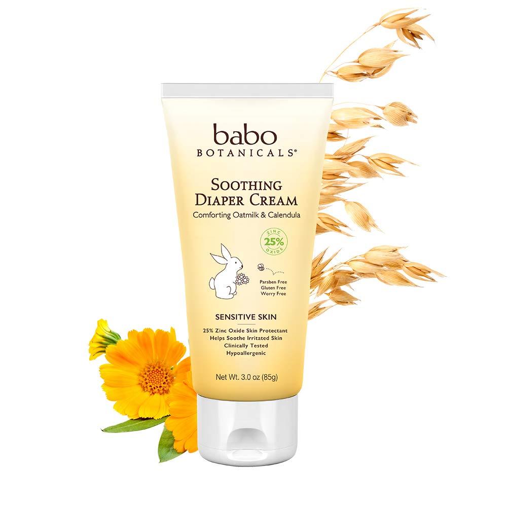 Babo Botanicals Oatmilk Calendula Soothing Diaper Cream